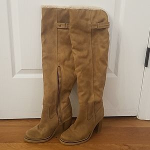 Free People Vegan Blake over the knee boots